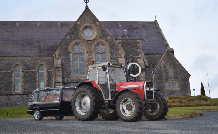Hearse service offers chance to take machinery passion to the grave