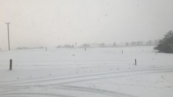 Department warning: Safety is paramount as blizzards land
