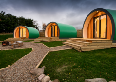 Pod company seeks farming partners for 'glamping' initiatives