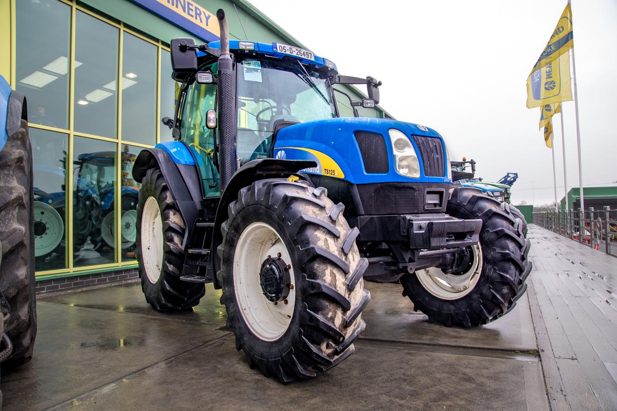 new holland tsa125a manual