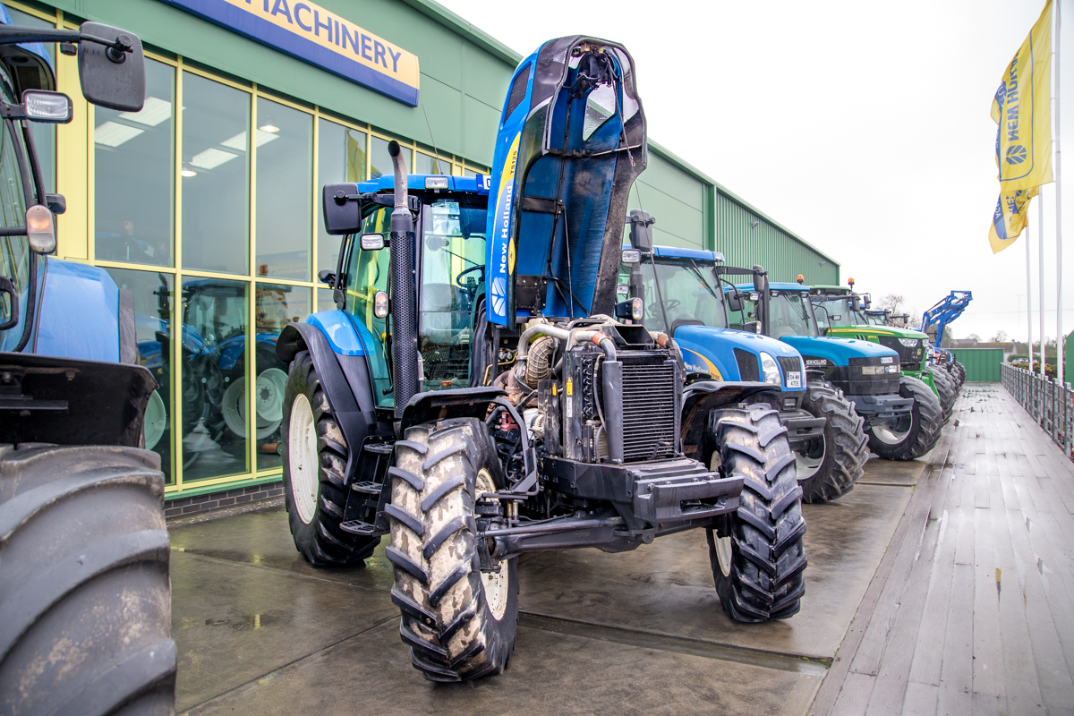 New Holland Tractor Roofs : Buyer s guide what you should look out for in a used new