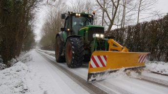 Farmers 'will not be held liable' for clearing public roads