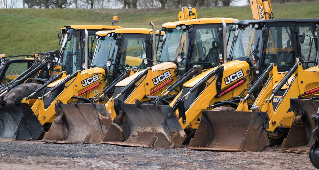 Auction report: JCB backhoe and tracked machine fleet goes 'under