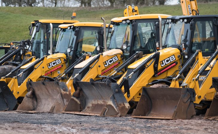 Auction report: JCB backhoe and tracked machine fleet goes 'under the hammer'