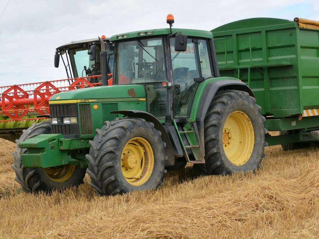 The John Deere 6010 Series was built from circa 1997 until the early 2000s  at the company's factory in Mannheim, Germany.