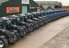 Big fleet of Valtra tractors sold to a single buyer in UK deal