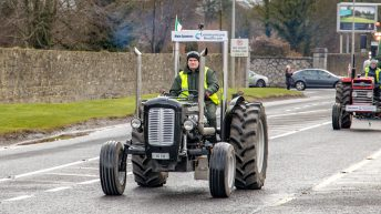 Pics: Dublin2Mayo tractor run tracking across the country