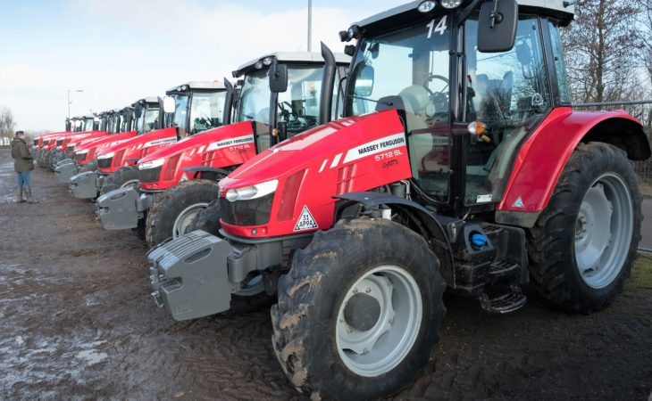 Auction report: Big, fresh 'red' fleet goes under the hammer