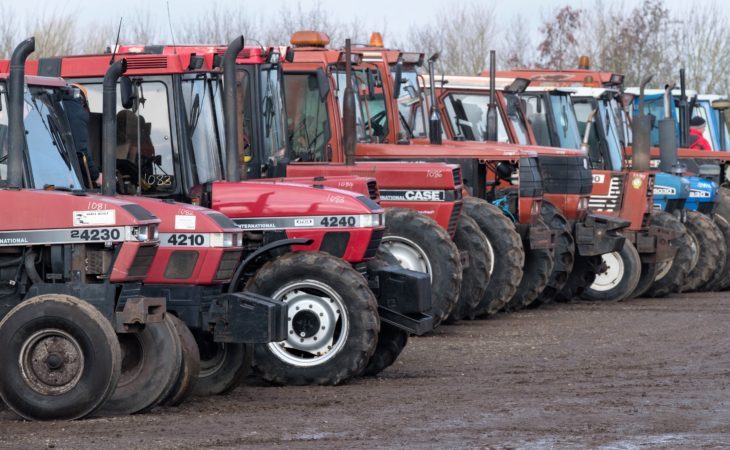 Auction report: 'Best of the rest' from March's monster tractor sale