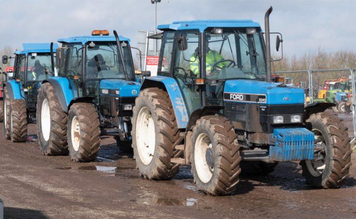 Auction report: 'Blue' bargains at March's Cambridge tractor sale?