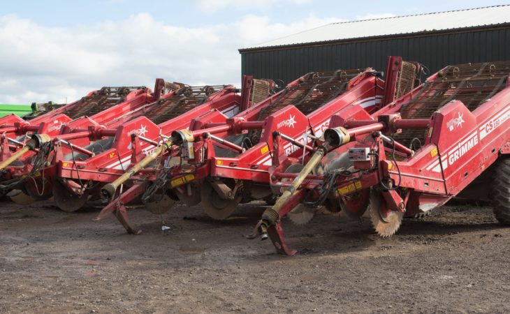 Auction report: Root crop machinery goes 'under the hammer'