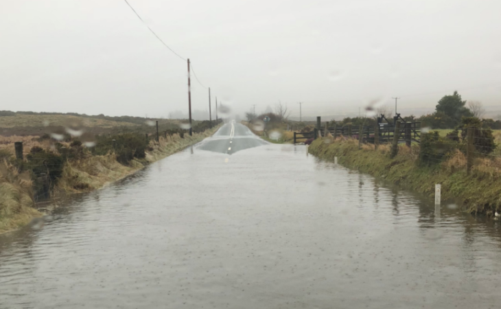 Local flooding issues are the responsibility of county councils, says minister