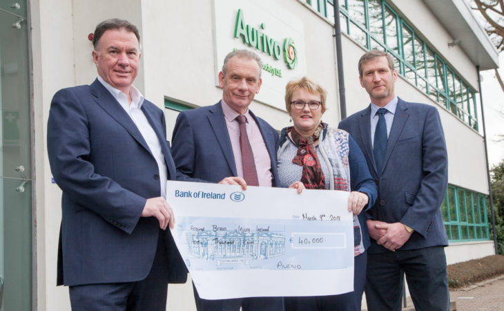 Aurivo raises €40,000 for Acquired Brain Injury Ireland