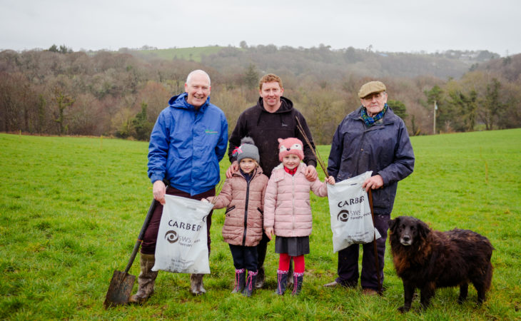Carbery offers further 12,000 free trees to farmers to offset emissions
