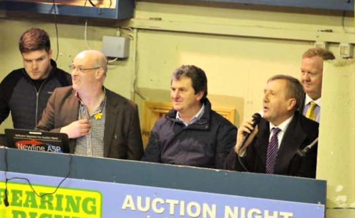 Minister commends rural community spirit at mart fundraiser