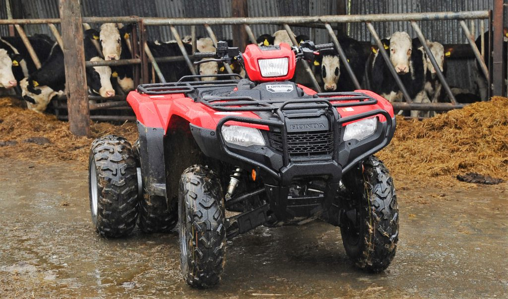 Trade focus: Is a quad the best 'tractor' a stock farmer
