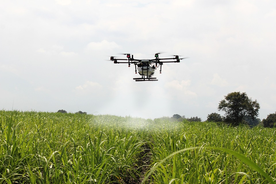 Drones could add a billion to UK primary industry income
