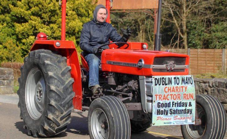 Reminder: Dublin2Mayo charity tractor run begins tomorrow