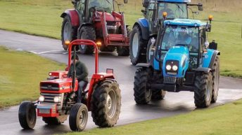 Dublin2Mayo tractor run aims to raise €50,000