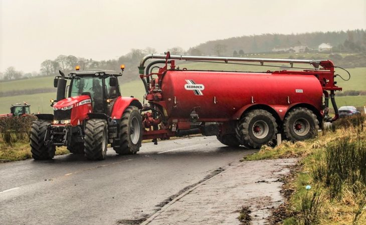 Top tips for motorists sharing public roads with farm machinery
