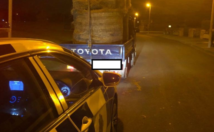Unsecured bales spell trouble for disqualified driver