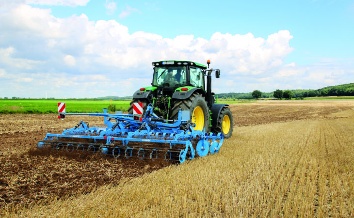 Change of venue for Lemken demo day