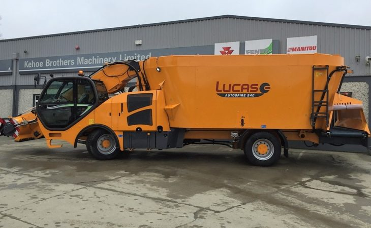 Pics: French-built self-propelled feeder lands in the south-east…of Ireland