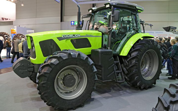Check out these tractors, combines and foragers…from a growing Chinese giant