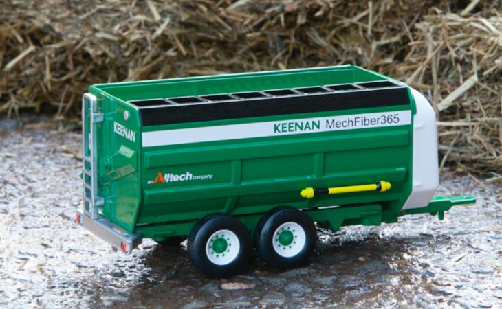 Keenan MechFiber365 replica model mixer wagon launched