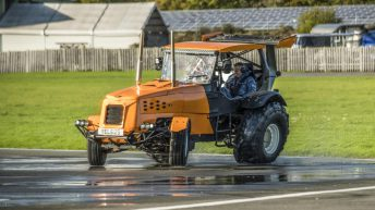 Blink and you'll miss it: New record set for world's fastest 'tractor'
