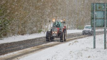 Roads remain treacherous and impassable in many areas