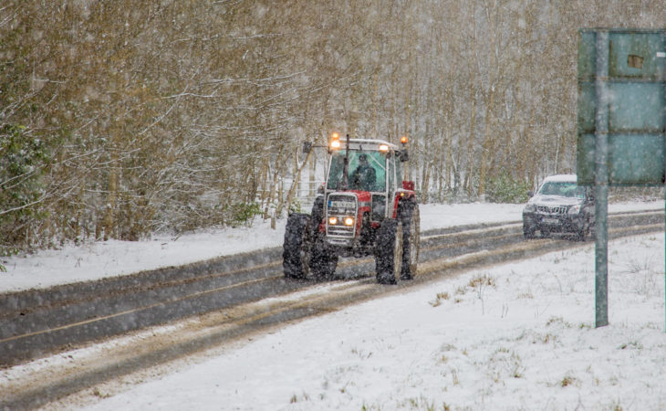 Snow/ice warning issued with 'widespread wintry showers' expected