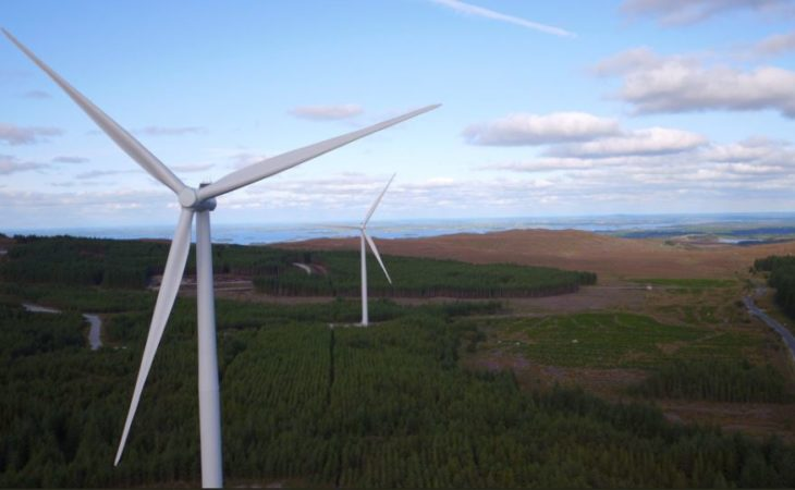 Record amount of wind energy installed in 2017