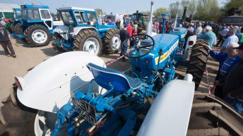 See the 'classic' tractor that fetched almost £70,000 at auction