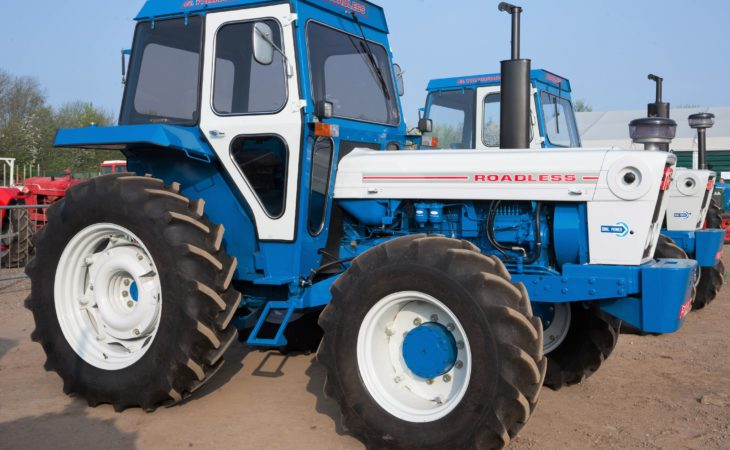 Auction report: Classic 'Ford-family' tractors fetch up to £50,000