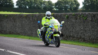 Motorcyclist taken to hospital following collision with tractor