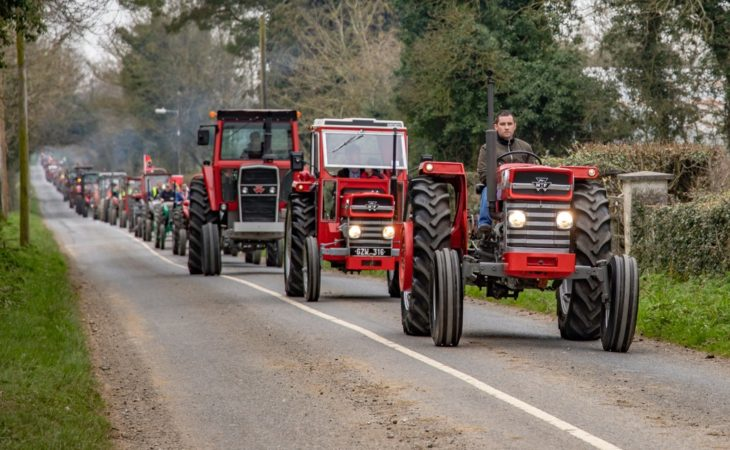 Pics: New Massey Ferguson world record set…in Co. Kildare