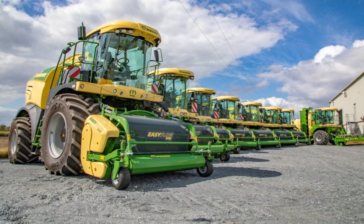 Pics: Massive haul of Krone foragers sold for 2018 Irish silage campaign