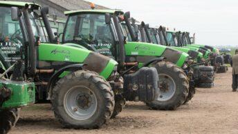 Auction report: Big, 'fresh' Deutz-Fahr fleet goes under the hammer