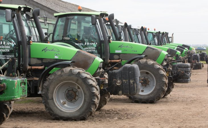 Auction report: Big, 'fresh' Deutz-Fahr fleet goes under the hammer