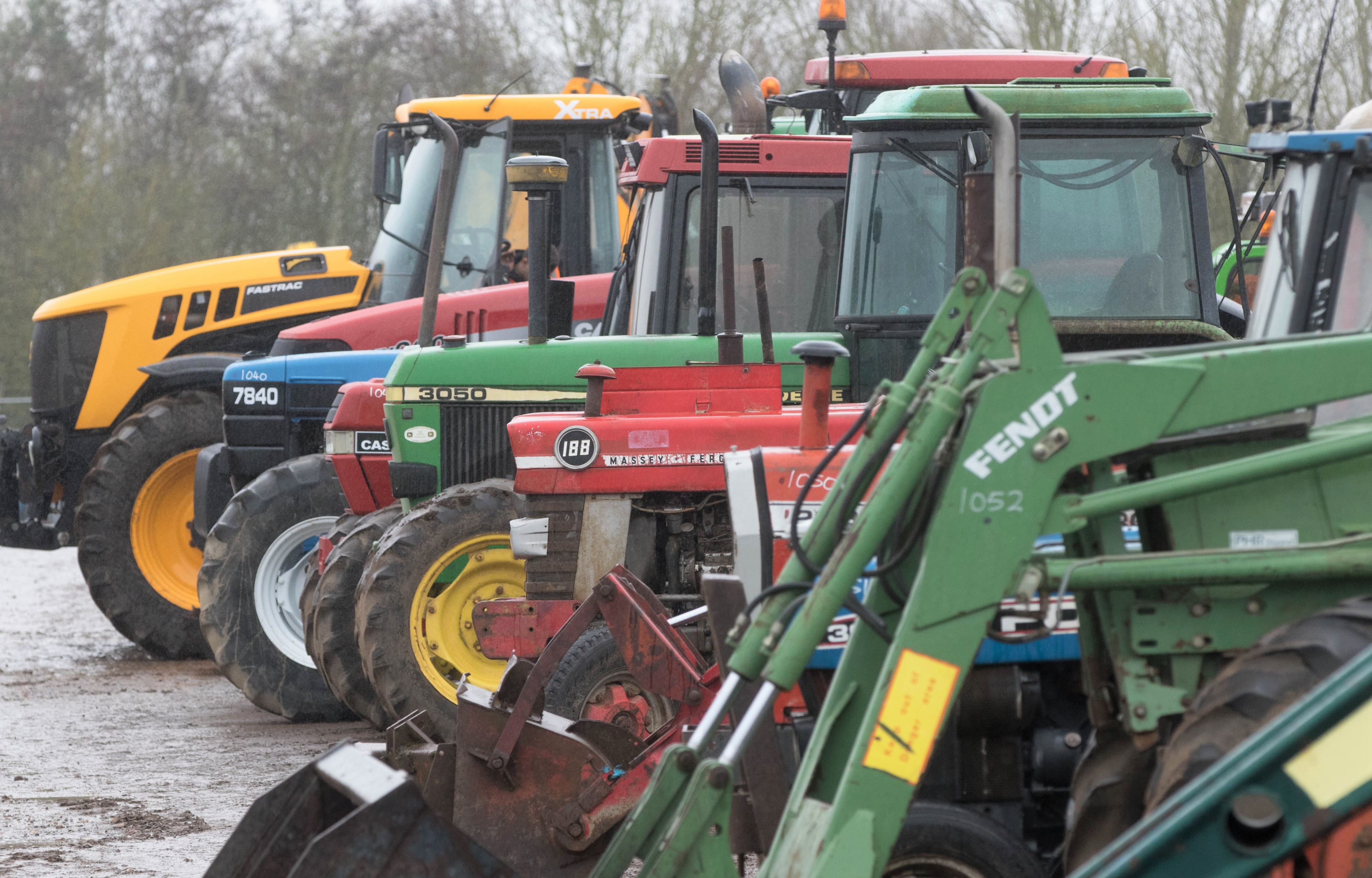 auction report blue bargains from monster april tractor sale