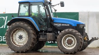 Auction report: 'Blue' bargains from monster April tractor sale?