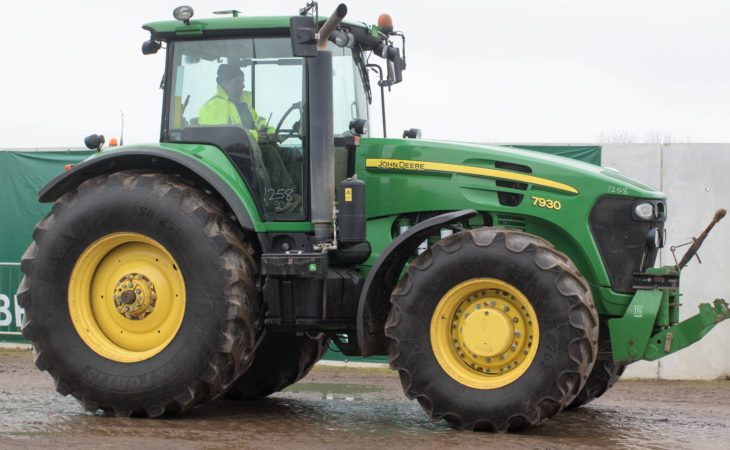 Auction report: 'Green' bargains at monster April tractor sale?