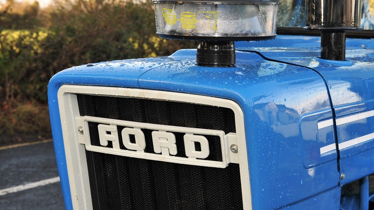 Pics: Check out these 'pristine' classics from an upcoming Ford auction