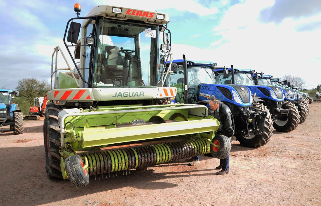 1d541e629d Auction report  Old and modern  under the hammer  at big Co. Tyrone ...