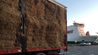 First Dairygold shipment of fodder lands in Wexford