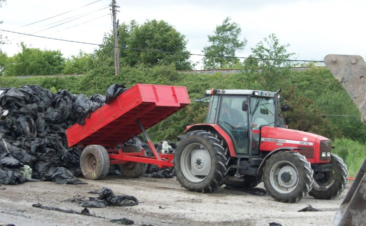 Where can I recycle my old silage wrap and how much will it cost?