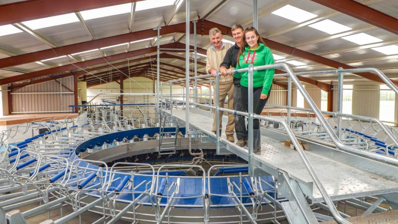 Dairy focus: Milking 280 cows per hour in Co. Limerick