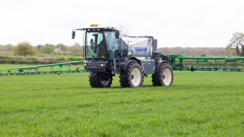 It holds 5,000L and stretches to 36m: Househam's latest tops up for 'Cereals'