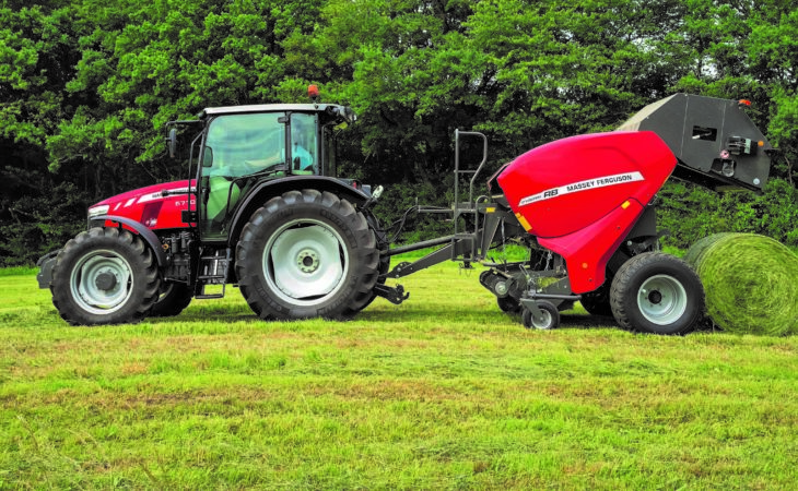 MF-badged Welger baler to get big outing at 'Grass & Muck'